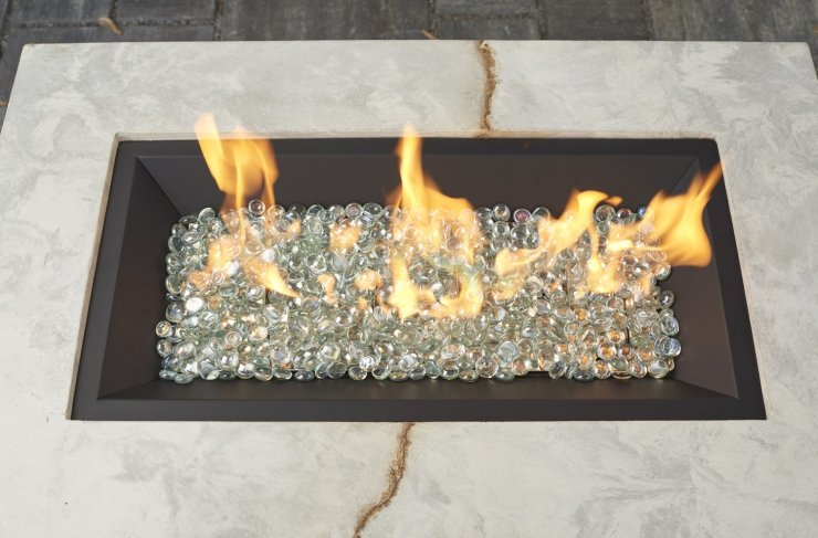 "Outdoor Greatroom Company 12"" X 24"" Rectangular Gas Burner"