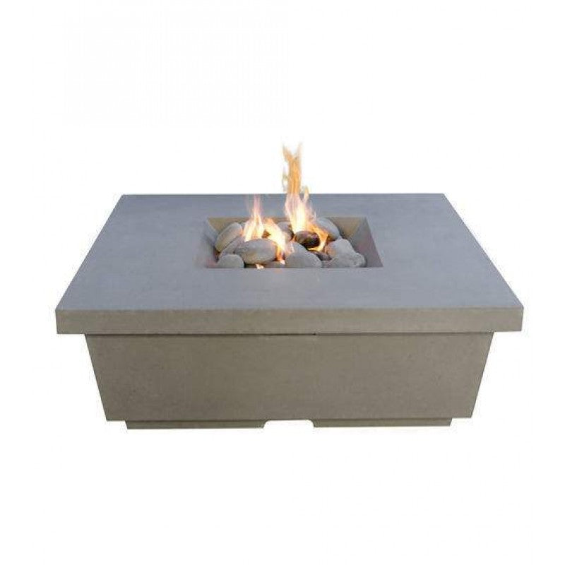 American Fyre Designs Contempo Chat Height Square FireTable 784-XX-11-V4XC