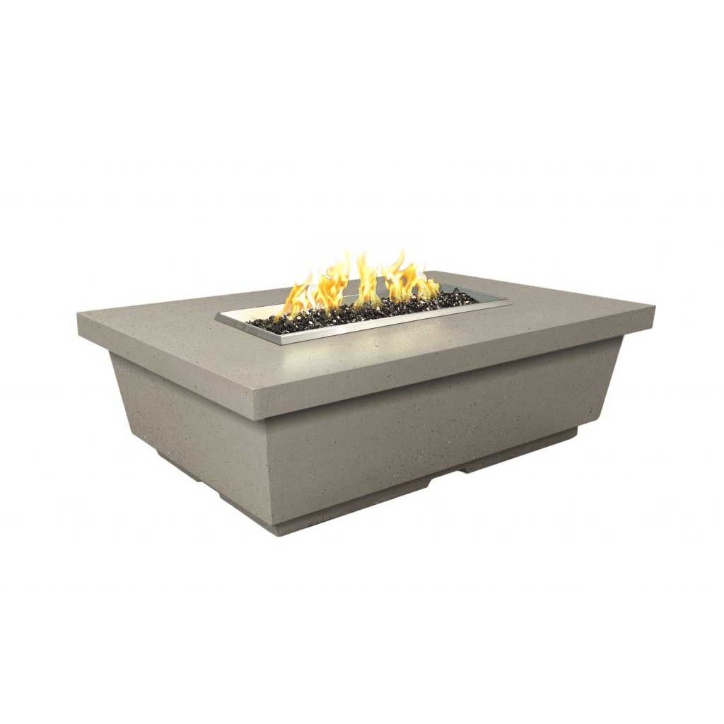 American Fyre Designs Contempo Chat Height Rectangle FireTable