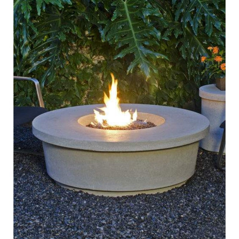 American Fyre Designs Contempo Chat Height Round FireTable 782-XX-11-V2XC