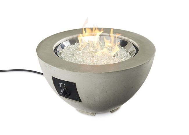 "Outdoor Greatroom Company  20"" Gas Fire Pit Bowl  CV-20 Cove"