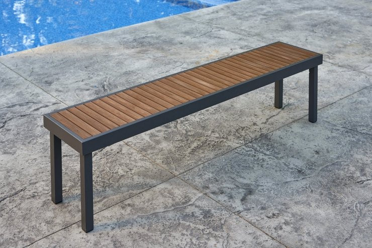 Outdoor Greatroom Company KW-LB Kenwood Long Bench