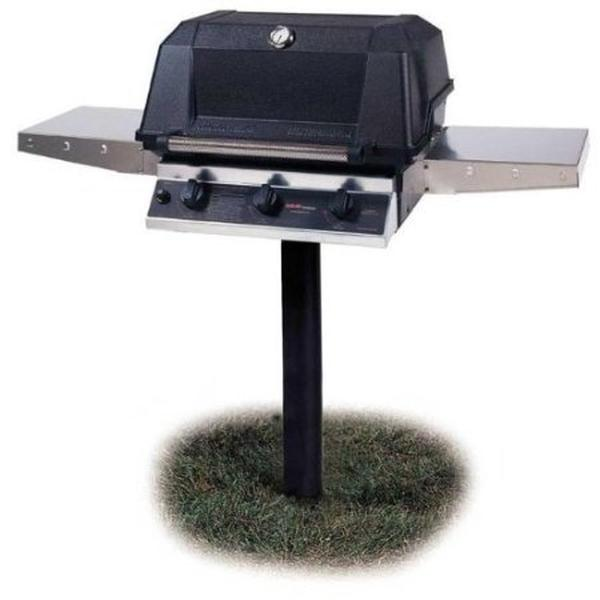 MHP Infrared Burner Liquid Propane Barbecue Grills WRG4DD-PS