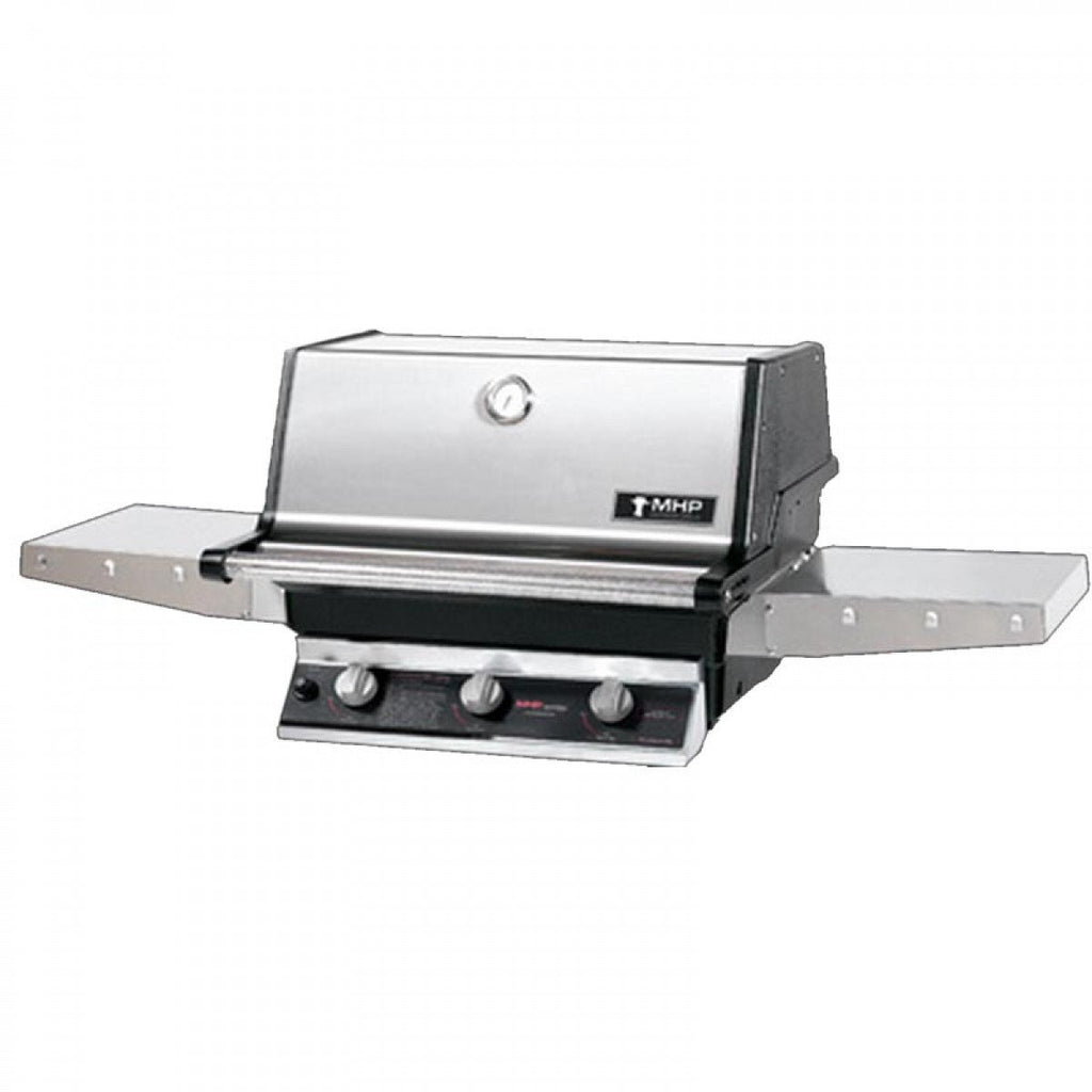 MHP Grill Hybrid Burner Liquid Propane Barbecue Grills THRG2-PS
