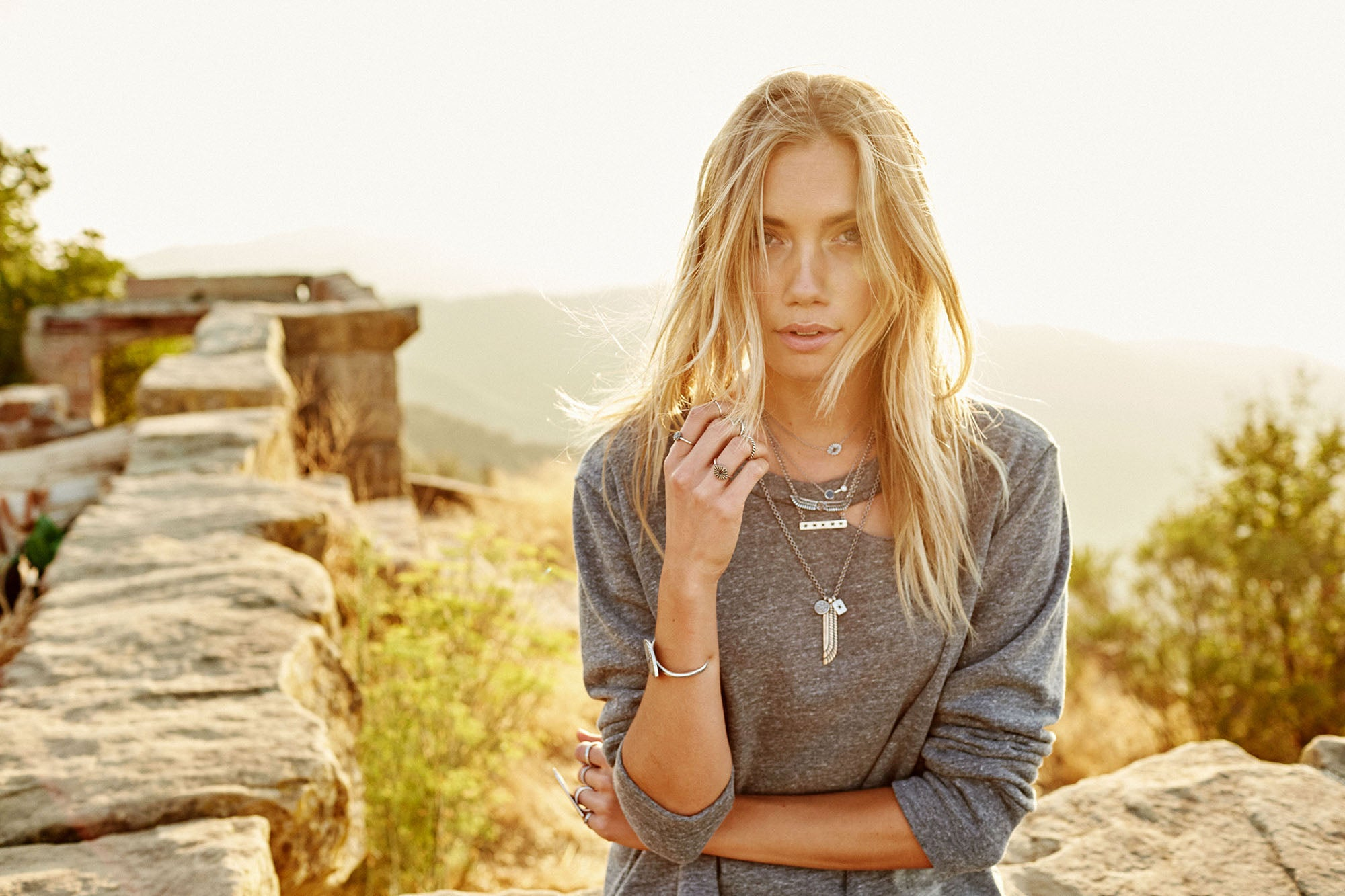 Torchlight Jewelry Ascension Collection / Photographer Nick Onken / Model Alden Steimle / Shot in Santa Barbara, CA