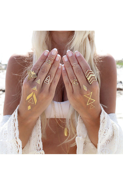 Torchlight Jewelry Thunderbird Ring in gold on Gypsy Lovin Light / Torchlight Jewelry's Thunderbird on a ring with a thin, round band