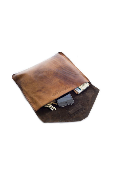 Mountain Leather Clutch