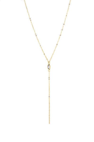 Renewal Lariat Necklace