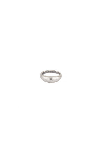 Torchlight Jewelry Terra Ring in Silver / Organically shaped silver ring that is perfect for stacking or wearing alone / Handmade from reclaimed metal in Los Angeles, California