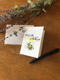 Gracious Words Honeycomb - Greeting Card