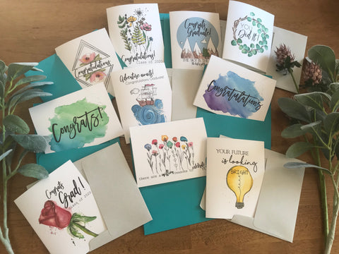 Congratulations Variety Pack Set of 10 - Greeting Cards