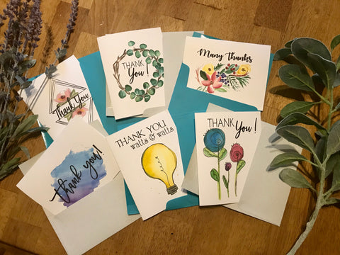 Thank You Variety Pack Set - Greeting Cards