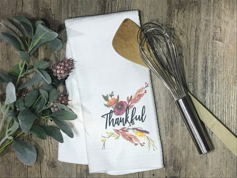 Thankful Home Decor Kitchen or Bathroom Towel