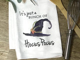 """It's Just a Bunch of Hocus Pocus"" Decor Kitchen or Bathroom Towel"