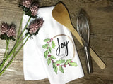 """Joy to The World"" Decor Kitchen or Bathroom Towel"