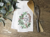"""O Come Let Us Adore Him"" Decor Kitchen or Bathroom Towel"
