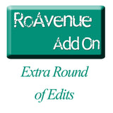 RoAvenue Add On  / Extra Round of Edits / Custom Word Art / Custom Graphic Art