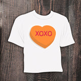 Valentines Day Shirt / Heart Shirt / Conversation Heart Shirt / Custom Shirt / Holiday Shirt / Personalized T-shirt / Kid Shirt / Valentine