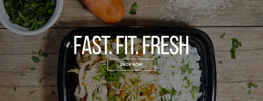 Meal Prep service that is fast fit and fresh.