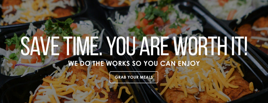 Meal Prep service that will help you save time.