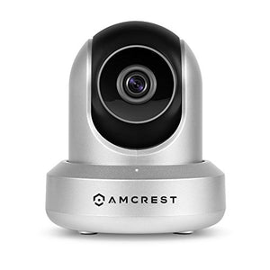 Amcrest HDSeries 720P WiFi Wireless IP Security Surveillance Camera System IPM-721S Silver (Certified Refurbished) - Cool Smart Home