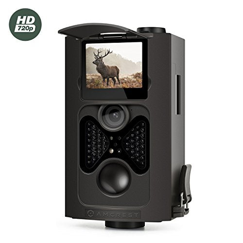 Amcrest 720P HD Game and Trail Camera - 8MP Dynamic Capture, Integrated 2