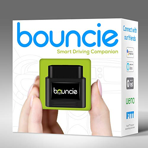 Bouncie - Connected Car - OBD2 Adapter - $8 Monthly 3G Service Req'd - Location Tracking, Driving Habits, Alerts, Geo-Fence, Diagnostics - Family or Fleets - Alexa, Google Home, IFTTT - Cool Smart Home