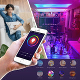 Smart WiFi Light Bulb, LED RGB Color Changing, Compatible with Amazon Alexa and Google Home Assistant, No Hub Required, A19 E26 Multicolor LUMIMAN 2 Pack - Cool Smart Home