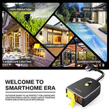 Outdoor Smart Plug, Waterproof Wifi Outlet Plug Compatible with Alexa and Google Home, Support Wireless Remote Control/Timer by Smartphone, No Hub Required - Cool Smart Home