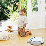 ILIFE V3s Pro Robotic Vacuum, Newer Version of V3s, Pet Hair Care, Powerful Suction Tangle-free, Slim Design, Auto Charge, Daily Planning, Good For Hard Floor and Low Pile Carpet - ILIFEV3spro - Cool Smart Home