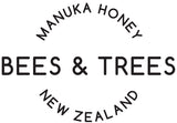 Bees & Trees Manuka Honey Logo