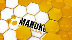 Manuka honey honeycomb image