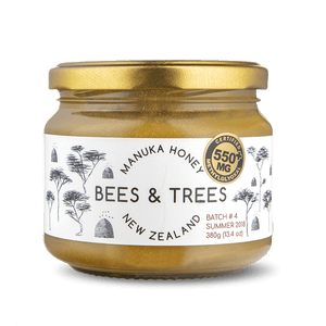 Manuka Honey High-Activity 550+ MG/kg test