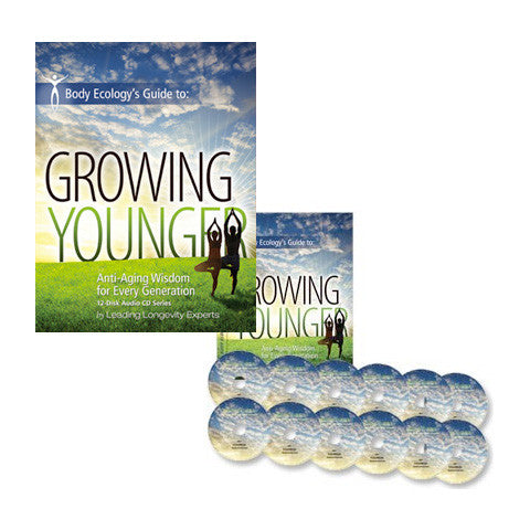 books & CDs Growing Younger 12-Disc CD Set
