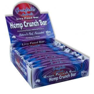 Weekly Super Saver: $10 Off Hemp Crunch Bar (Box of 10)