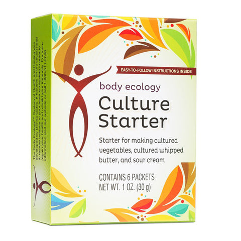 Culture Starter 6 Sachets - Email Us For How To Order From USA