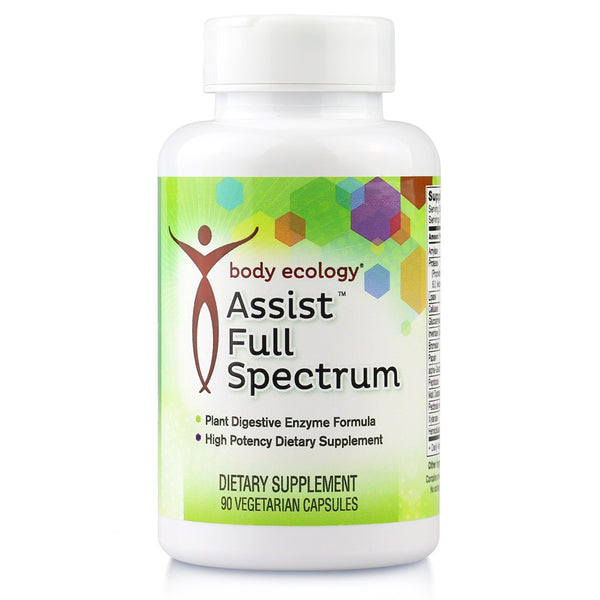 Love Your Gut 10% Off Assist Full Spectrum Digestive Enzymes