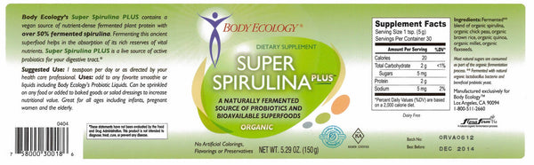 Super Spirulina Plus 150 gr
