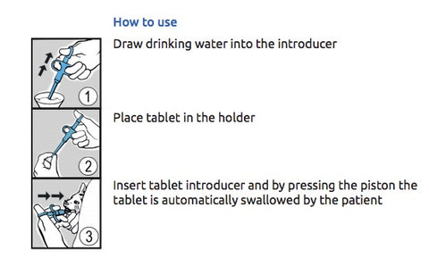 Tablet Introducer Operating instructions