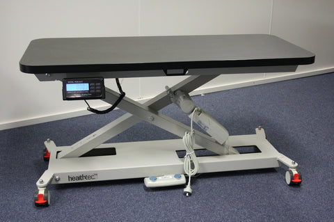 SX Vet Table with in-built weight scales