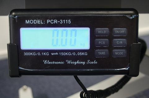 Weight scale system for SX Vet Table
