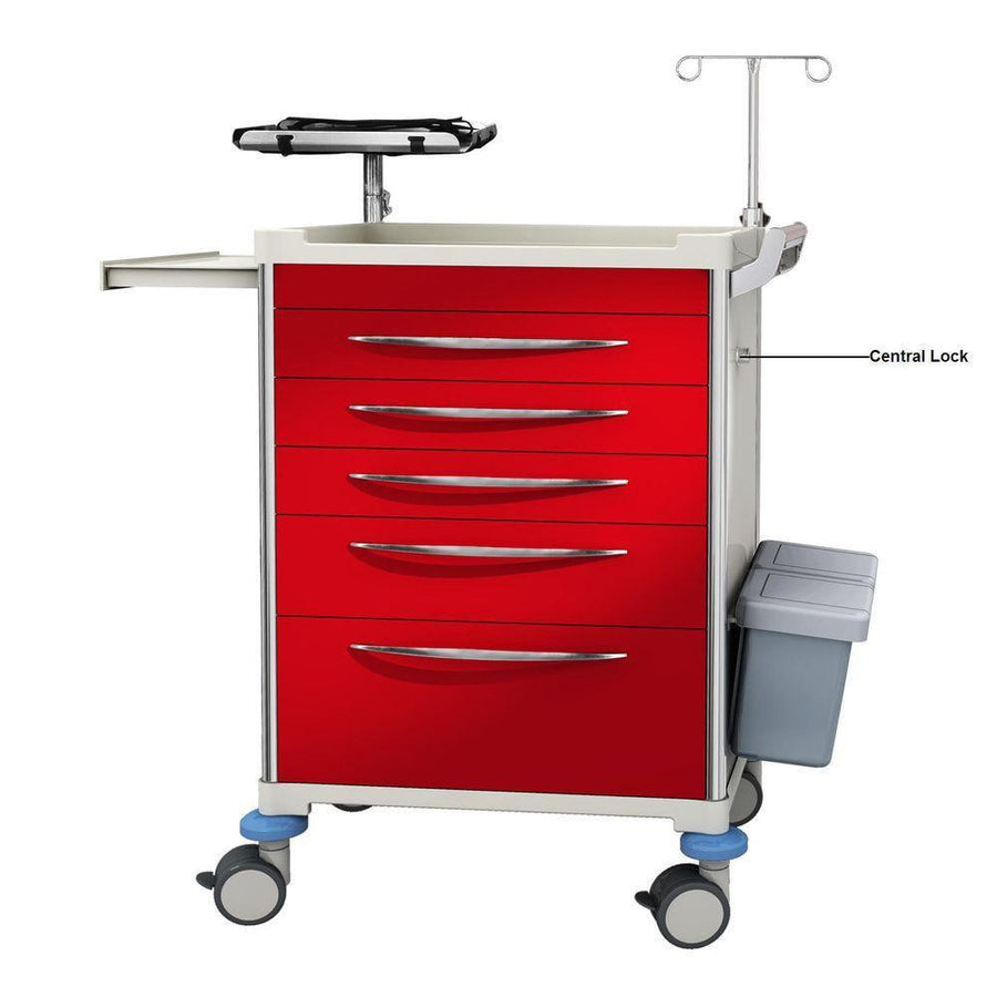 Trolley, Emergency Medical Cart-InterAktiv Health