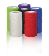 Pet Cohesive bandages 10cm box of mixed colour rolls at InterAktiv Vet
