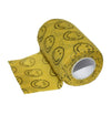 Pet Flex Cohesive Bandage with yellow smiley face print 5cm at InterAktiv Vet