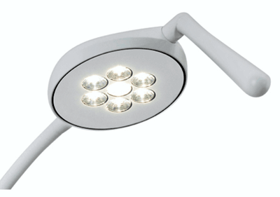 LED Light Flexed Desk Mount Permanent Screws - InterAktiv Vet