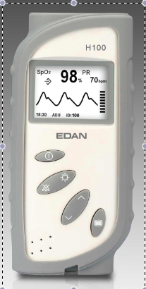 Protective Rubber Cover for EDAN VE-H100B Pulse Oximter