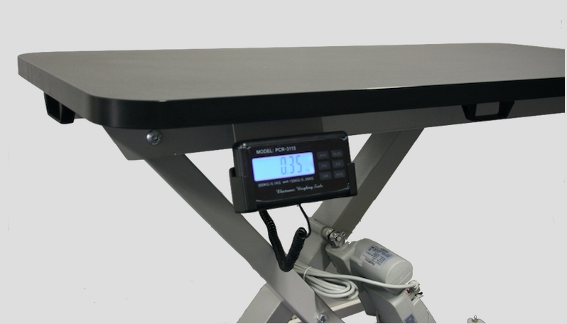 InterAktiv Veterinary Height Adjustable Treatment Table with Weighing Scales