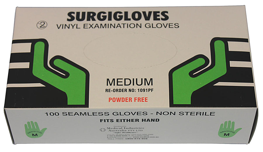 Gloves, Examination Vinyl - 1000/ctn