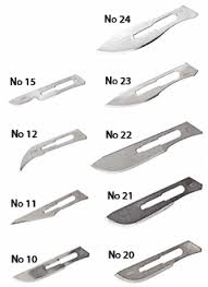 SMI STERILE SURGICAL BLADES WITHOUT HANDLES