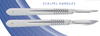 SMI STERIL SURGICAL BLADES WITH PLASTIC HANDLES AT INTERAKTIV VET